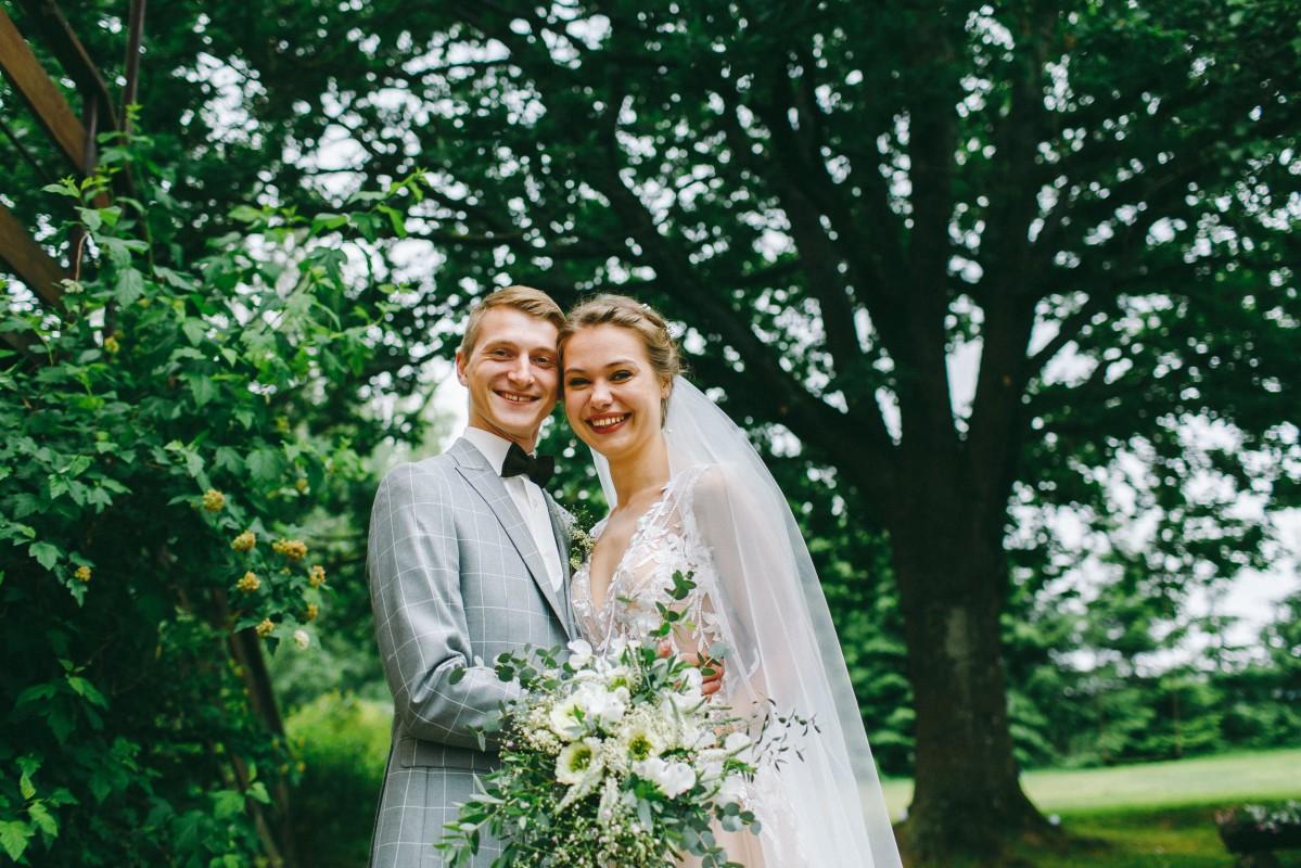 Молодожена Андрей и Катя