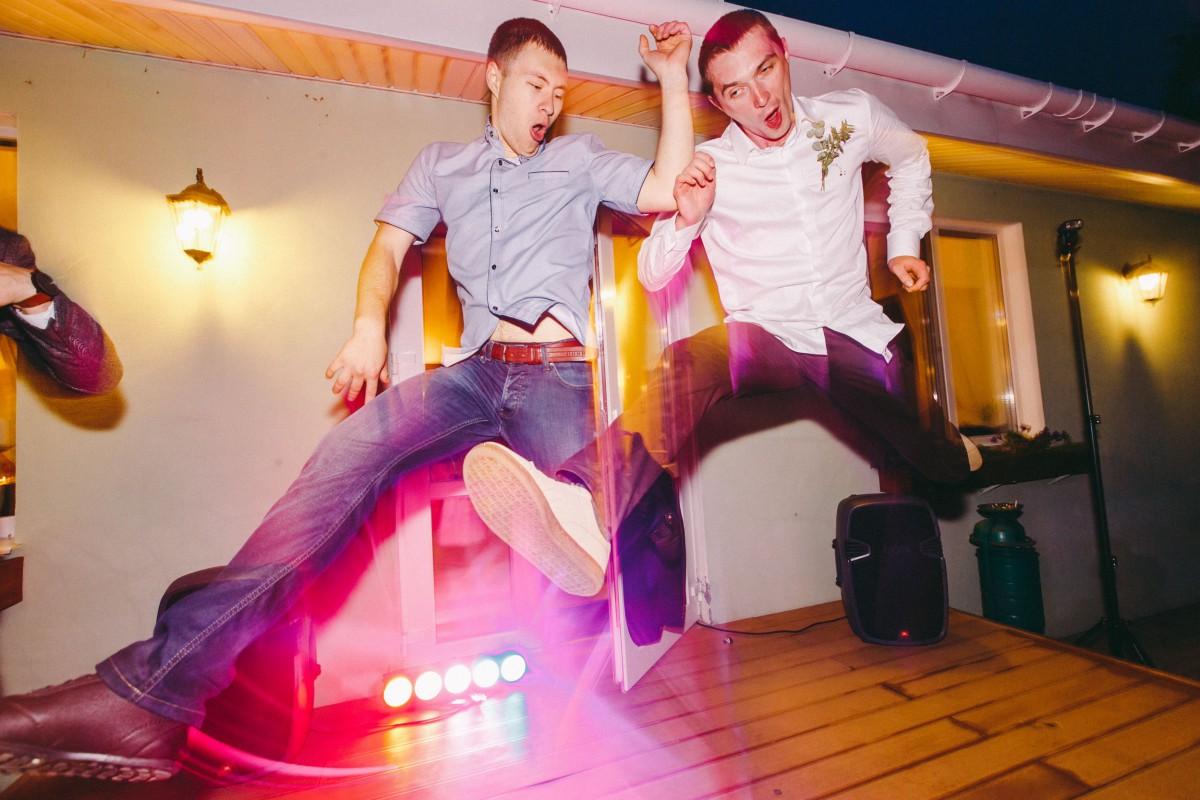 Танцы на свадьбе. Усадьба Ганка, Беларусь